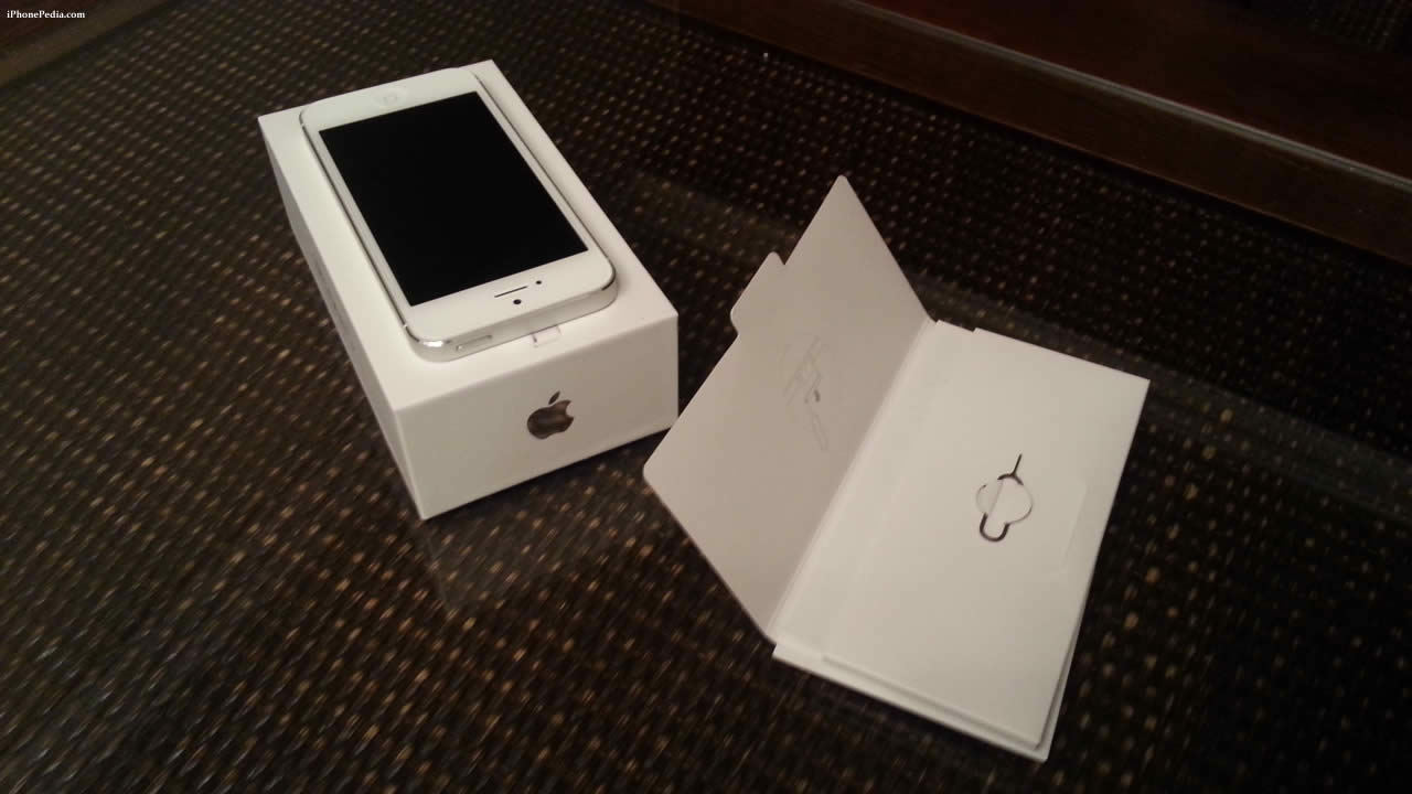 unboxed iphone 5