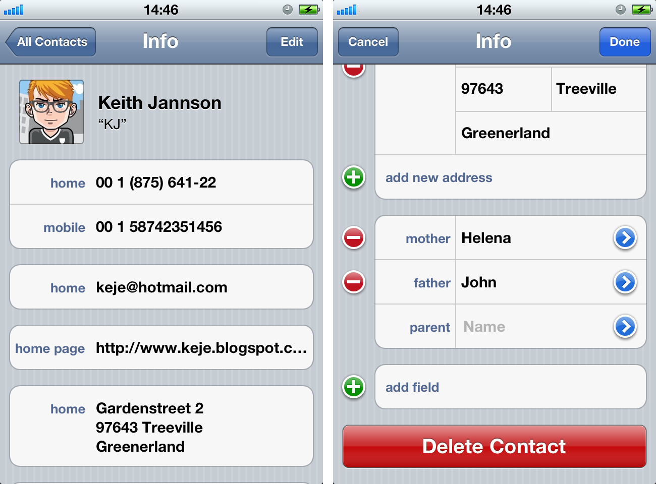 how to delete contacts on iphone fast how to delete a contact on iphone iphone contacts how to 1659