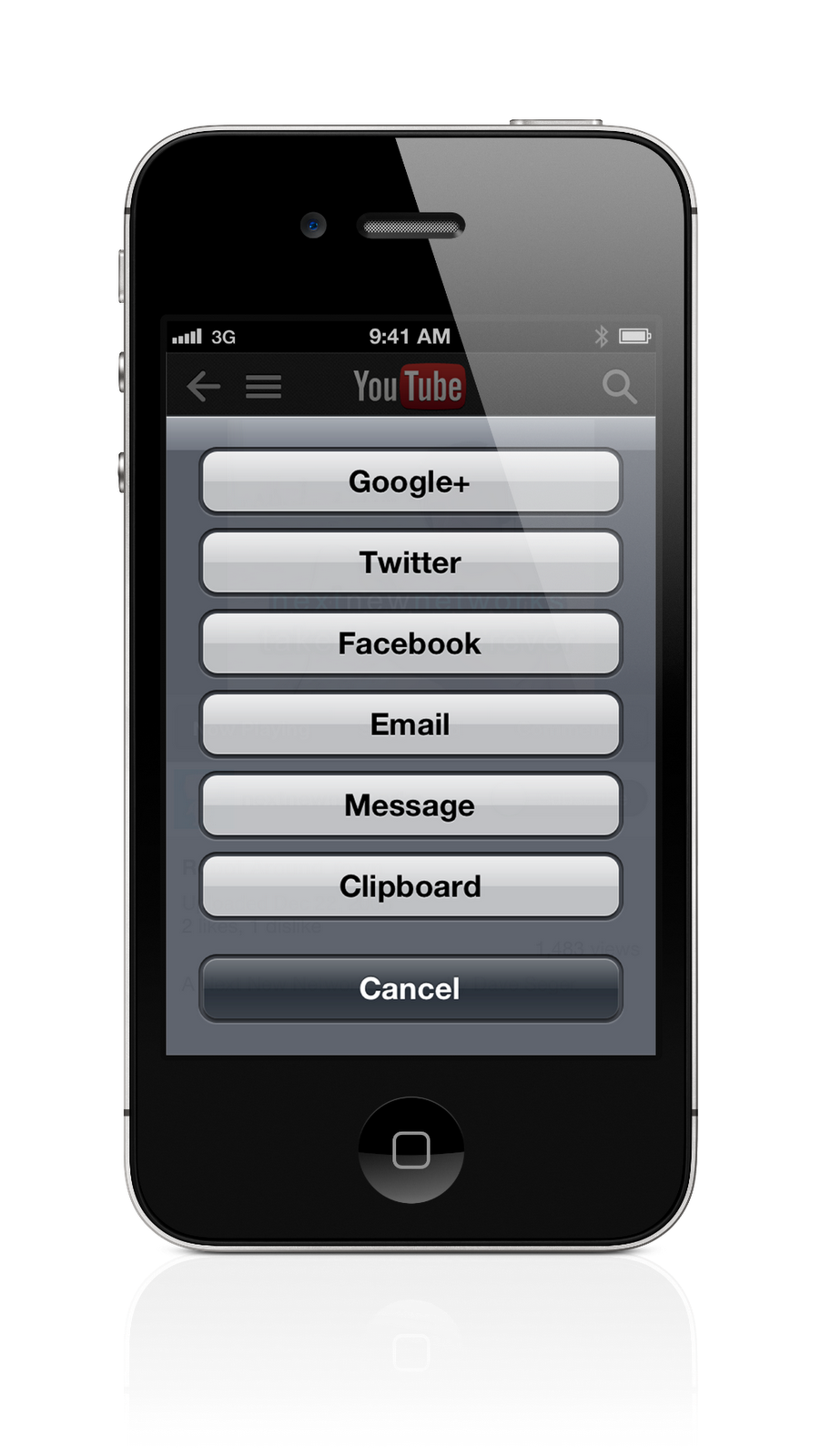 Document 5 Search Bar. Step 2 Enter YouTube video URL on iPhone
