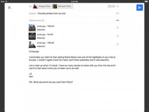 4. how to view email full screen on iPad