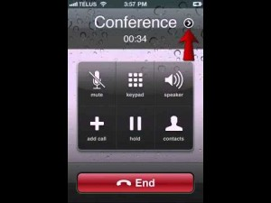6. how to do a three way calling on iPhone