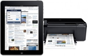 8. how to set up printer on iPad