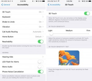 4. how to activate force touch on iPhone 6s