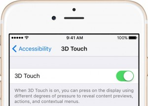5. how to turn on 3D touch for iPhone 6s